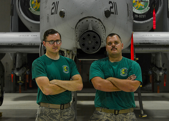 25th AMU Airmen keep Thunderbolts flying