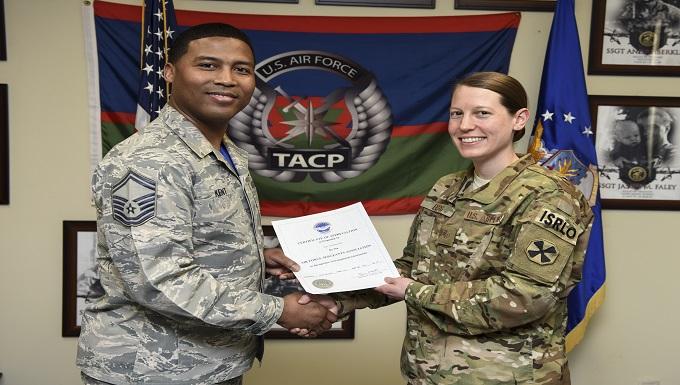 Osan Airman receives AFSA Legislative Award