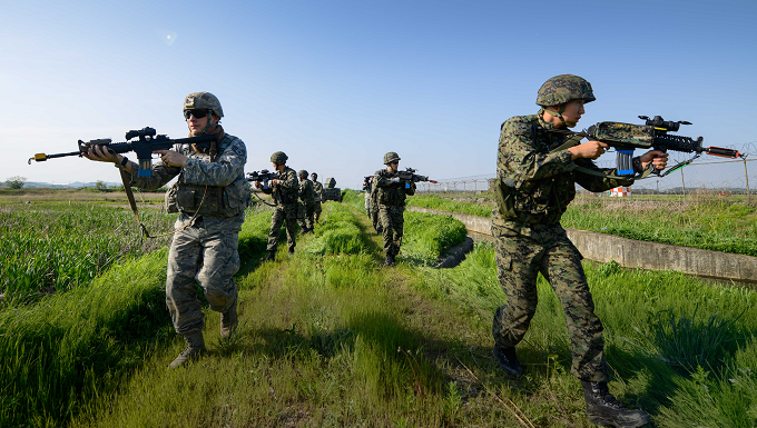 ROK SOF Exercise