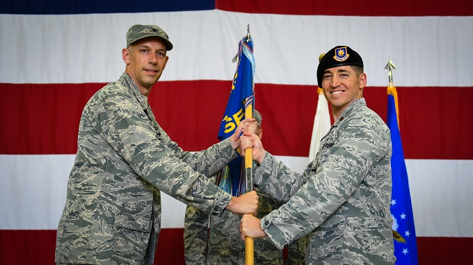 51st Security Forces Squadron Change of Command